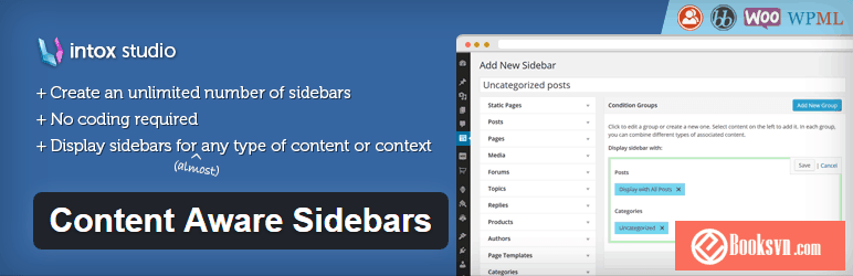 content-aware-sidebars-wordpress-plugin