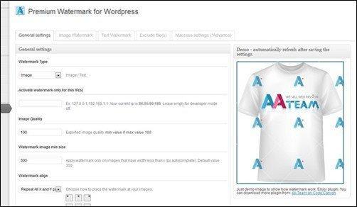 premium-woatermark-for-wordpress