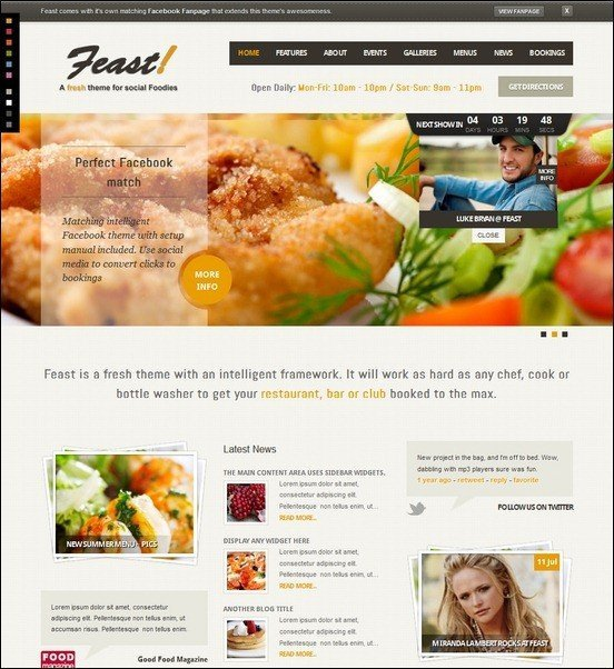 Feast-Facebook-Fanpage-WordPress-Theme