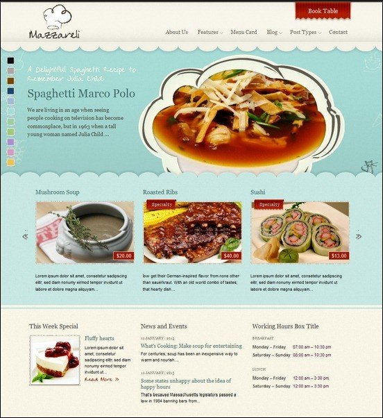 Mazzareli-WordPress-Theme