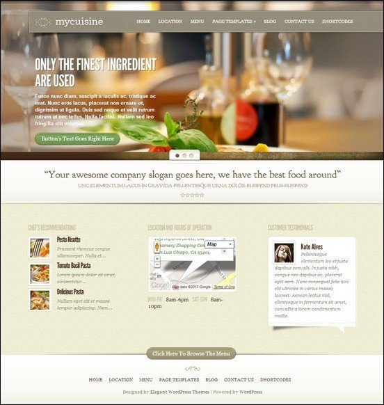 MyCuisine-restaurant-WordPress-Theme