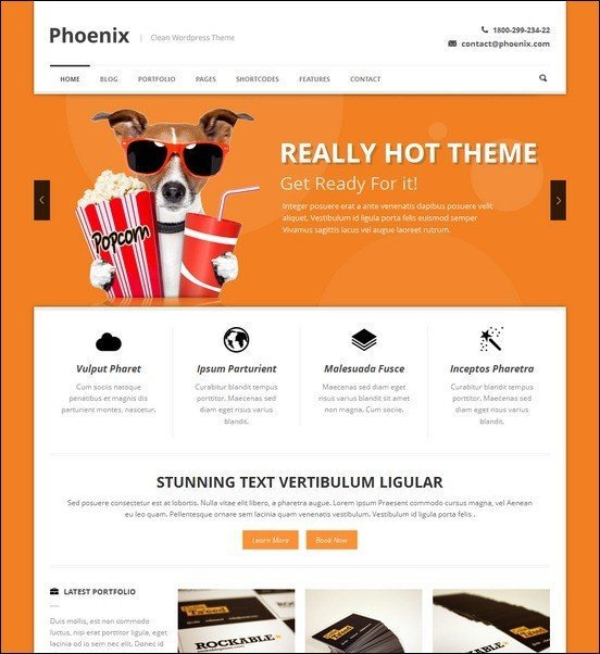 Phoenix-Clean-Responsive-WordPress-Theme