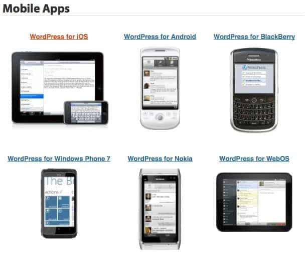 WordPress-blog-Mobile-Apps