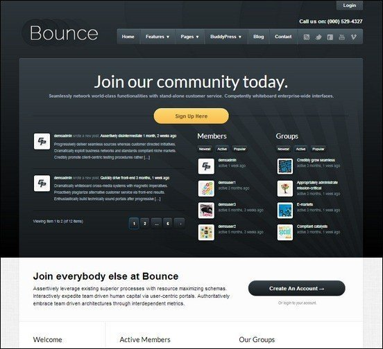 bounce-professional-wordpress-buddypress-theme