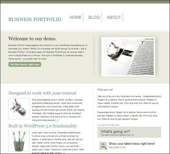 business-portfolio-theme
