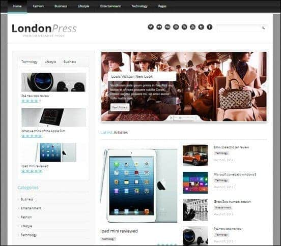 londonpress-responsive-blog-magazine