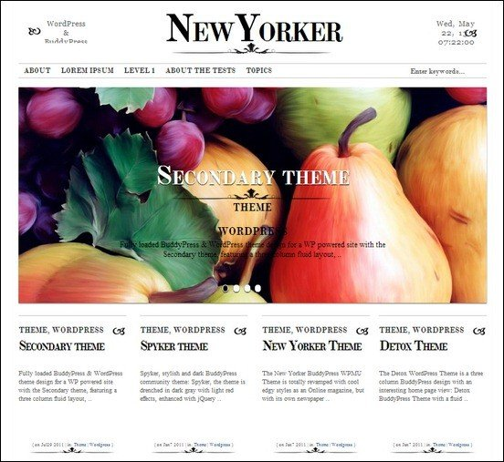 new-yorker-wp-theme