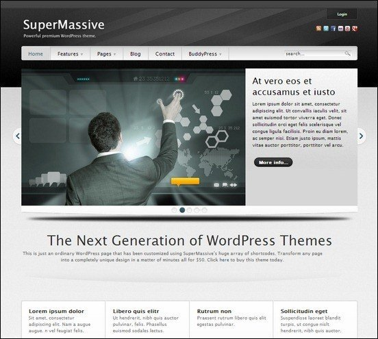 supermassive-professional-wordpress-buddypress-theme