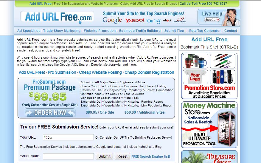 Add-url-free