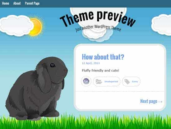 Free-WordPress-Themes-2014-bunny