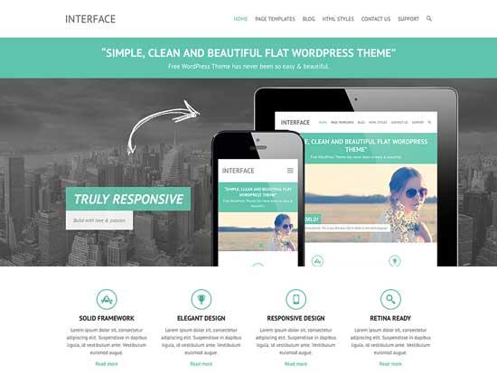 Free-WordPress-Themes-2014-Interface