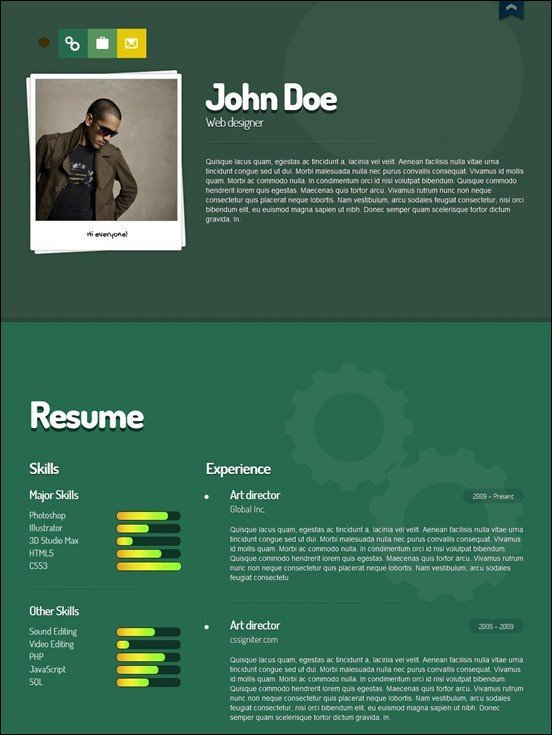 Me-vcard-wordpress-theme