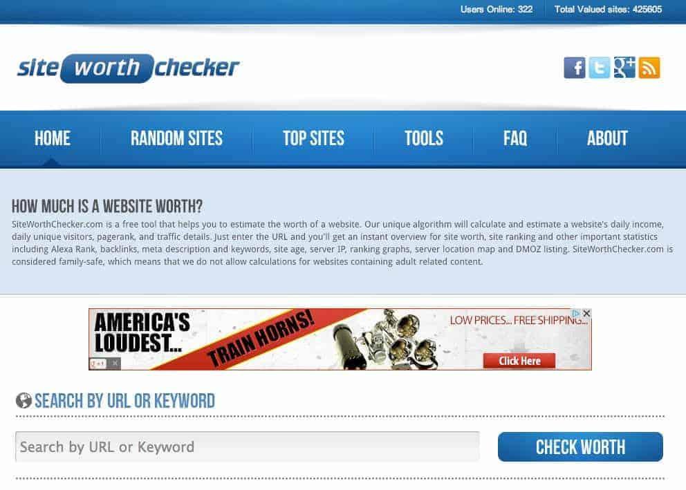 siteworthchecker