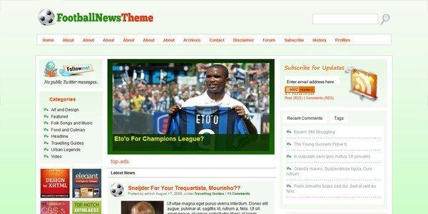 Football-News-Theme