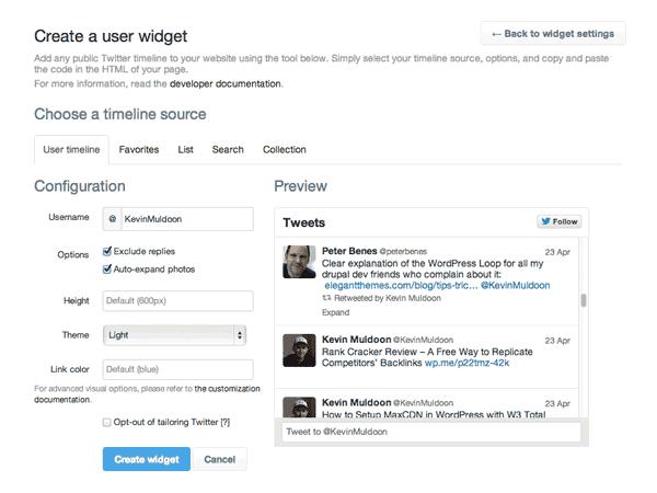 official-twitter-widget