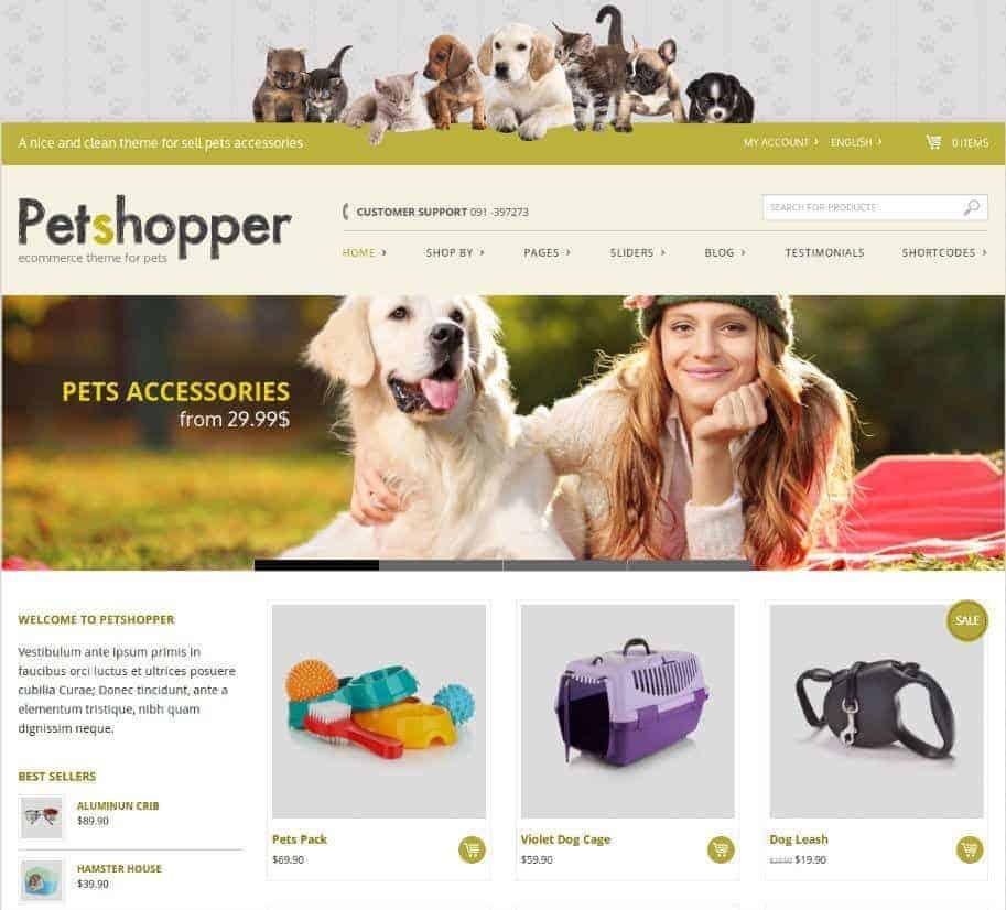 Petshopper-ecommerce-theme-for-pets