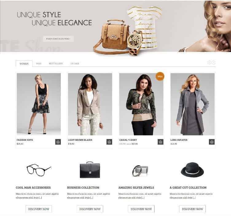 Socute-WP-E-Commerce-Theme
