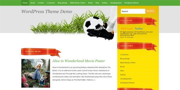 Spakball-the-Football-WordPress-Theme