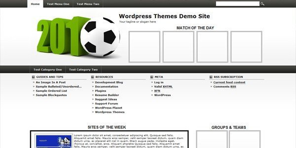 Soccer-wordpress-theme
