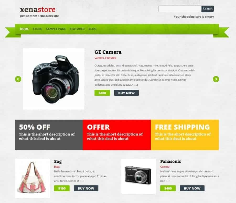 Xenastore-WP-Theme