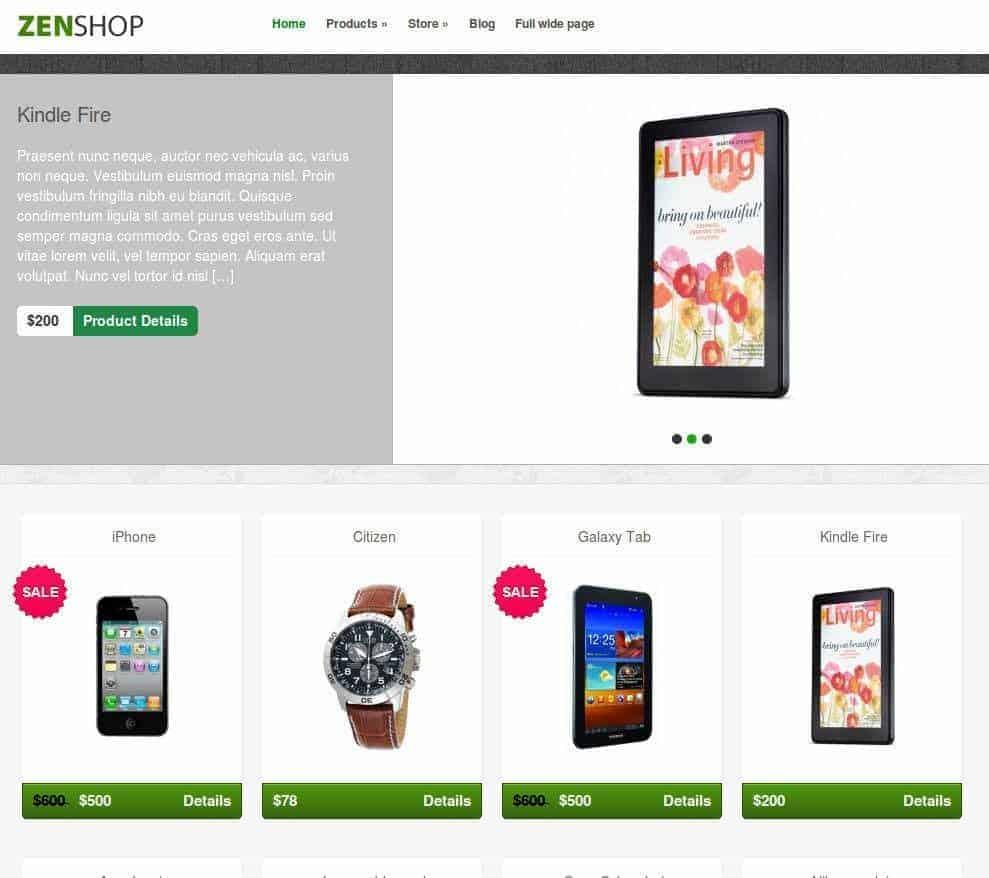 zenshop-ecommerce-wp-theme