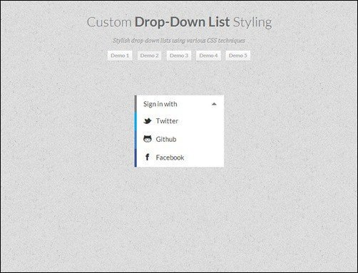 Custom-Drop-Down-List-Styling