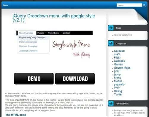 JQuery-Dropdown-Menu-With-Google-Style