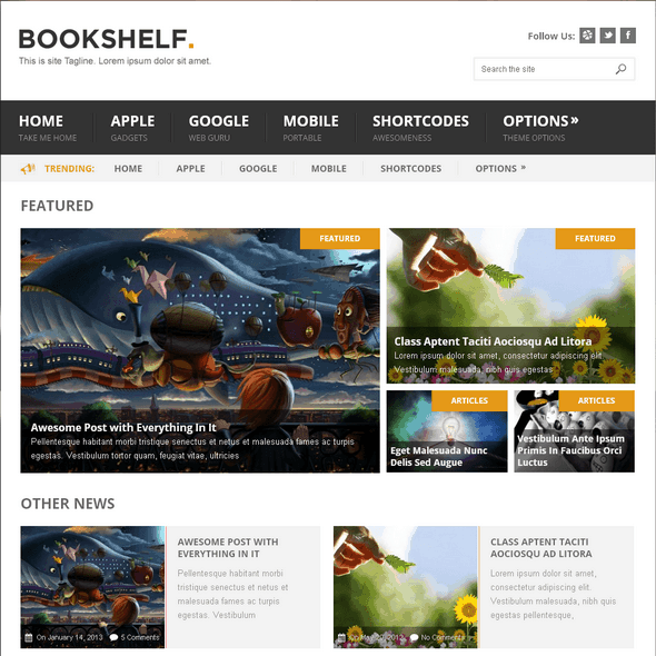 Bookshelf-mythemeshop