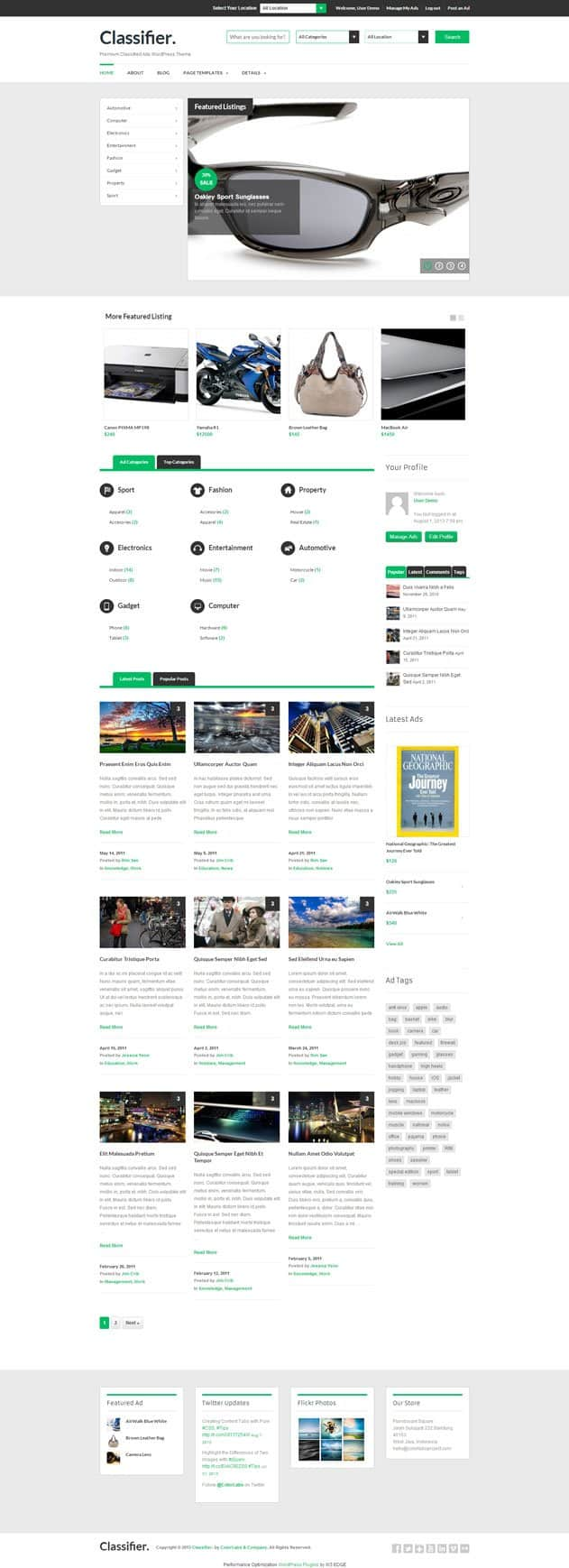 Classifier-Classified-Ads-WordPress-Theme