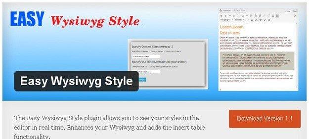 Easy-Wysiwyg-Style