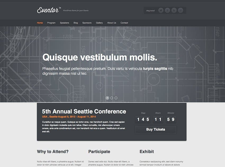 eventor-events-wordpress-theme