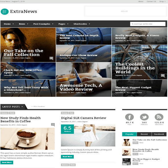 Extra-News-WordPress-Theme
