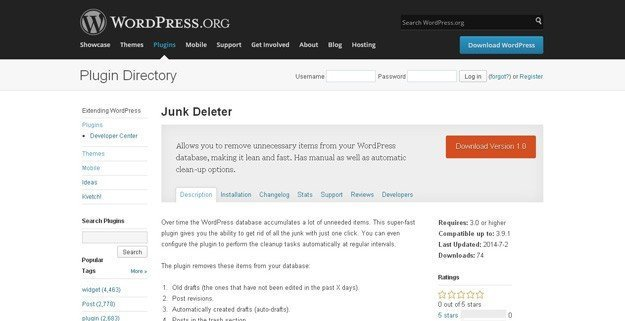 junk-deleter