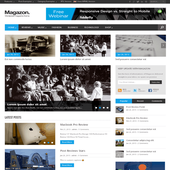Magazon-WordPress-Theme