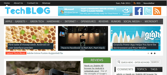 TechBlog-WordPress-Theme