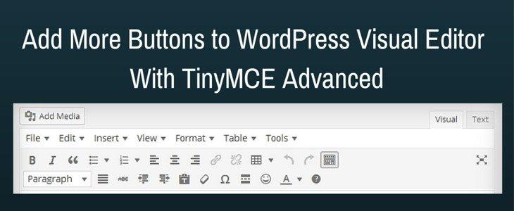 tuy-bien-trinh-soan-thao-wordpress-voi-tinymce-advanced