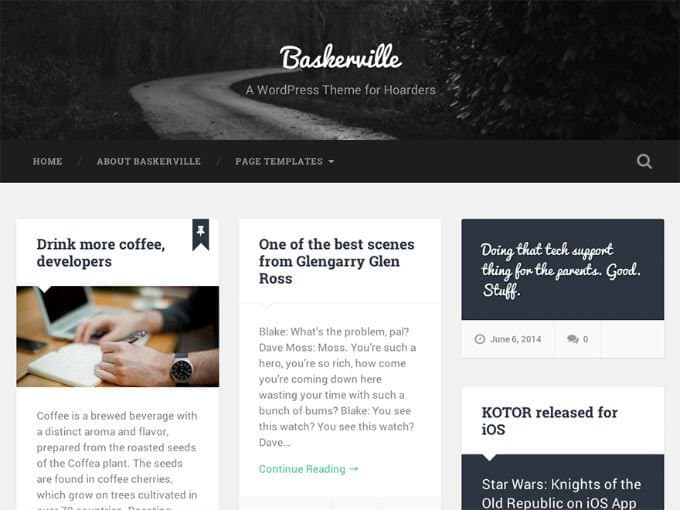 baskerville-wp-theme