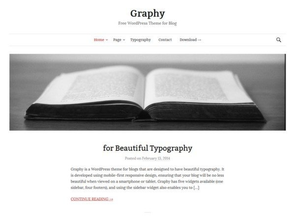 graphy-wp-theme