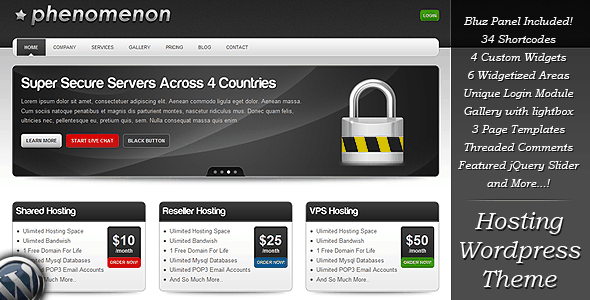 Phenomenon-Premium-Hosting-WordPress-Theme