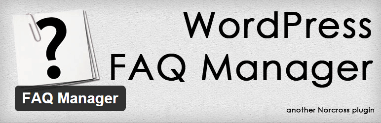 WordPress-FAQ-Manager