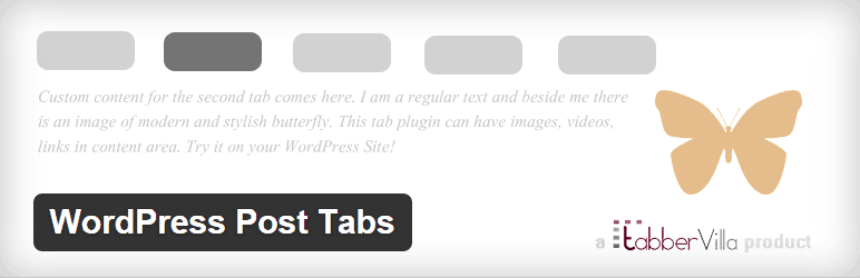 WordPress-Post-Tabs