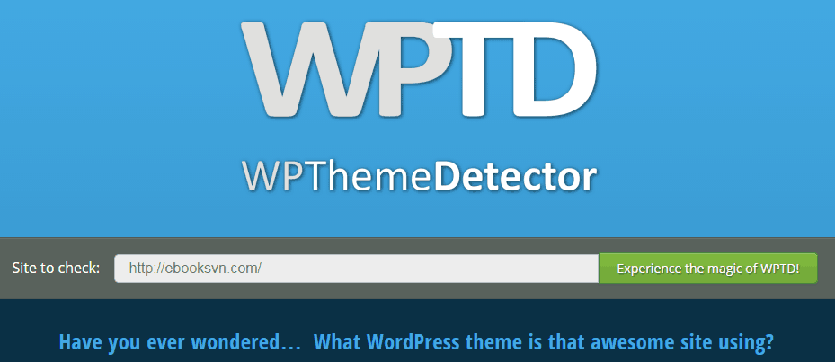 wordpress-theme-detecter