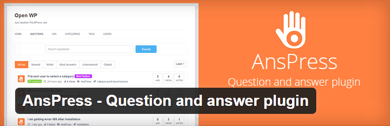 AnsPress-Question-and-answer-plugin