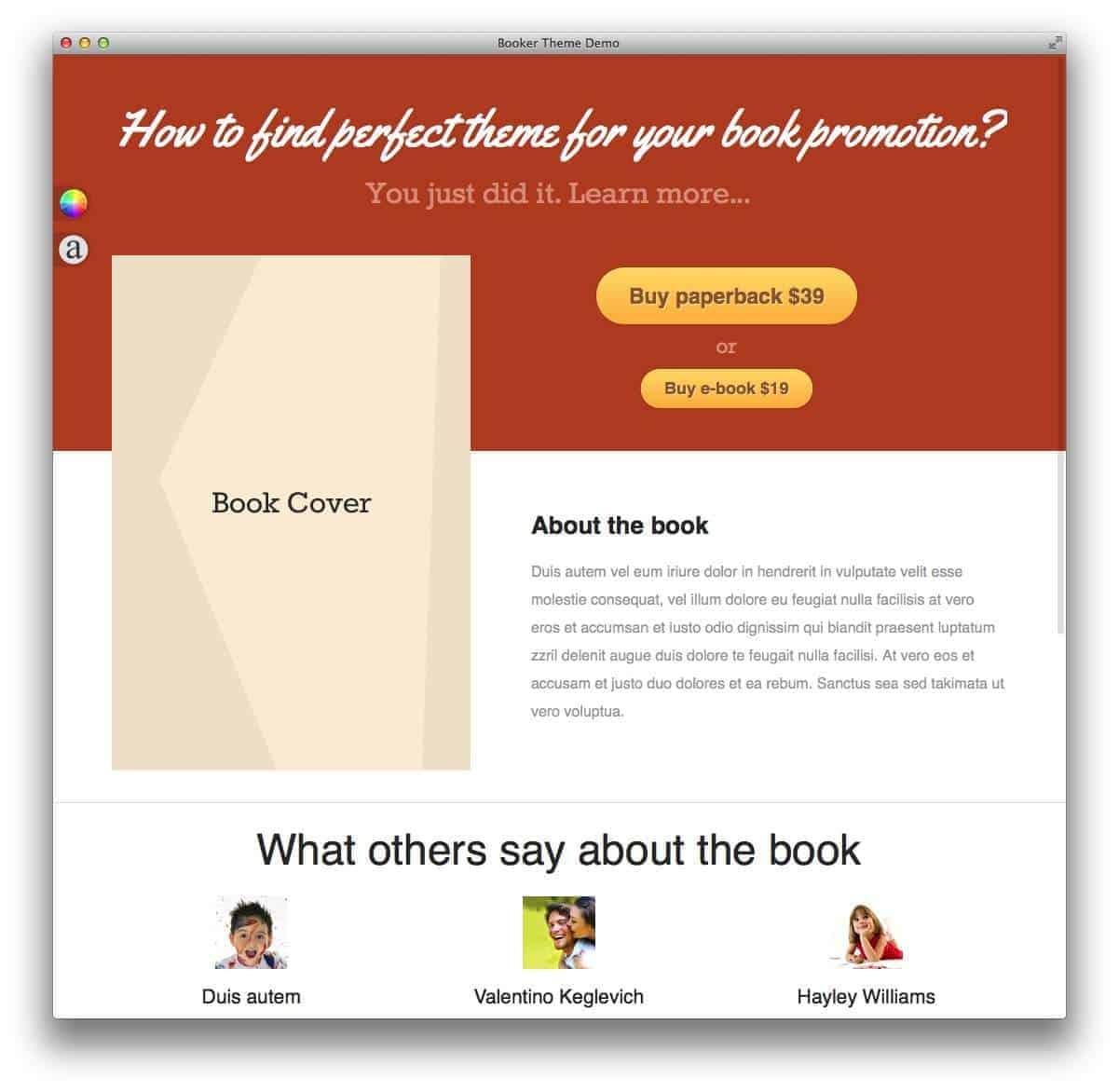 booker-wordpress-theme