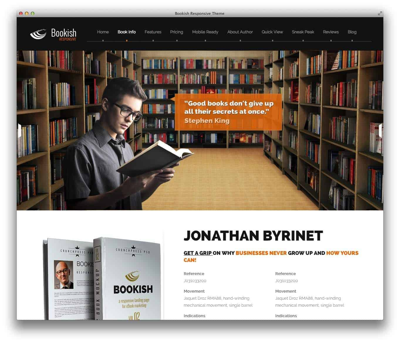 bookish-wp-theme