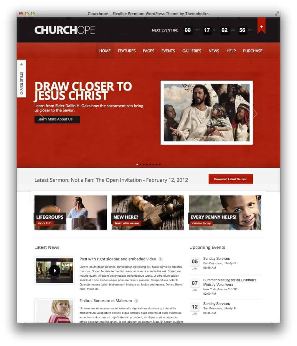 churchope-wordpress-theme