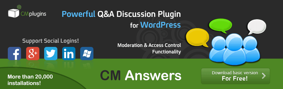 Cm-Answers-plugin