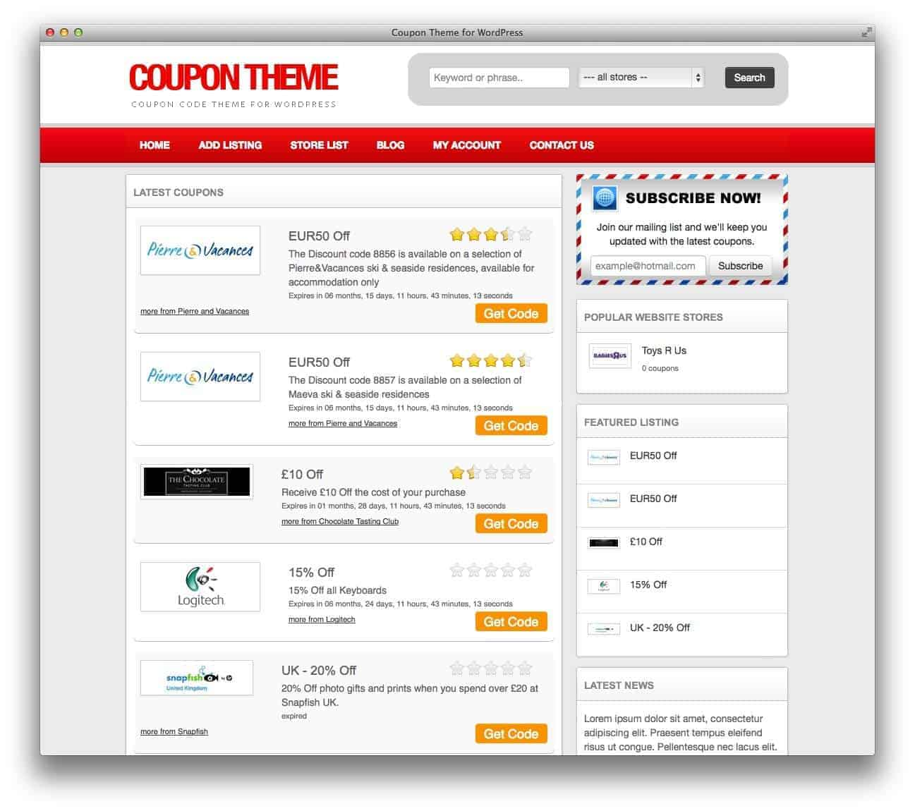 coupontheme