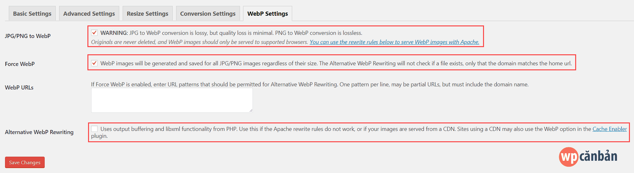 ewww-image-optimizer-webp-settings