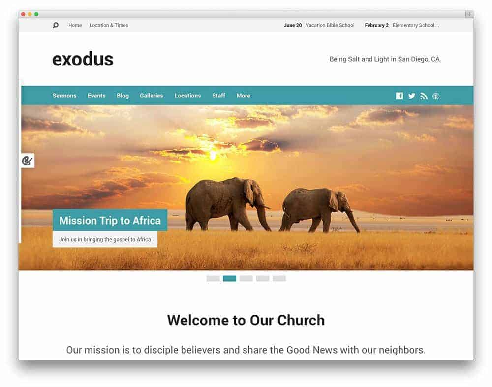 exodus-church-theme